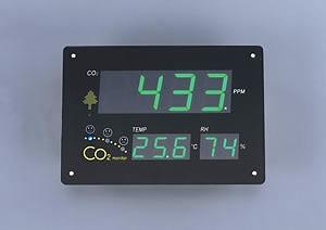 エスコ ESCO 291x210x51mm CO2モニター EA733AJ-4 [I110103]