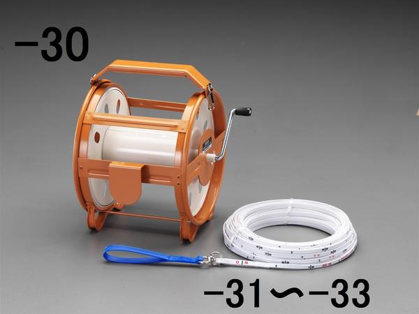 エスコ ESCO 測量ロープ用リール EA720MA-30 [I110815]