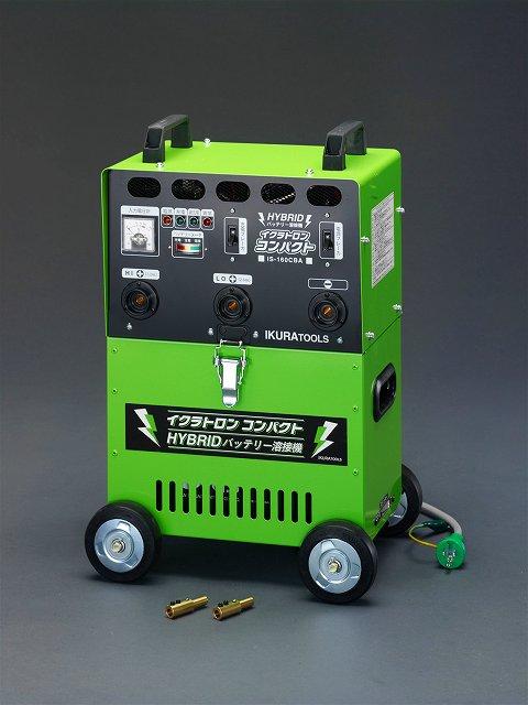 エスコ ESCO AC100V/90-155A 直流アーク溶接機[バッテリー式] EA315GJ [I030201]