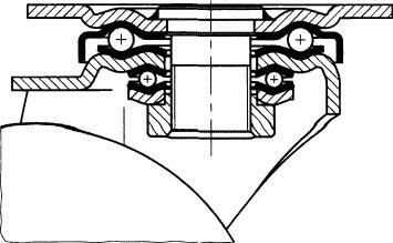 【◆◇エントリーで最大ポイント5倍!◇◆】エスコ ESCO 250mm キャスター(固定金具) EA986KF-250 [I170301]