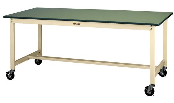 エスコ ESCO 1500x600x740mm ワークテーブル (キャスター付) EA956TS-27 [I270106]