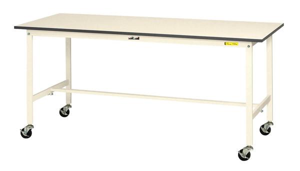 エスコ ESCO 900x600x826mm ワークテーブル (キャスター付) EA956TC-1 [I270106]