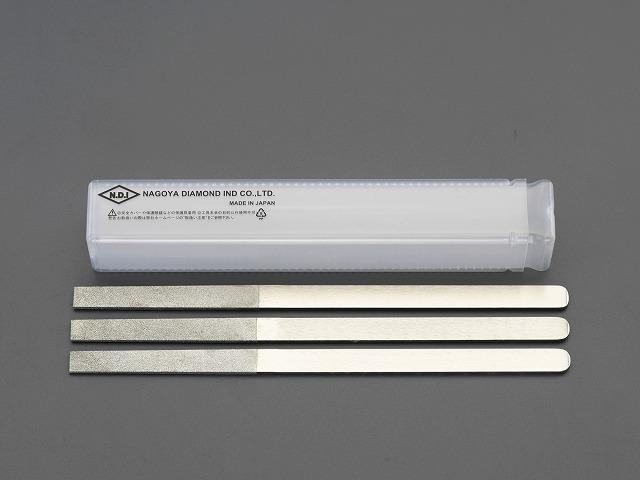 エスコ ESCO 215mm 3本組ダイヤモンドやすり(平) EA826SF [I060819]