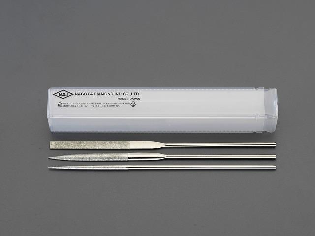 【★4時間限定!獲得最大P10倍!★限定期間注意!】エスコ ESCO 200mm 3本組精密ダイヤモンドやすり(#200) EA826NJ-20 [I060819]