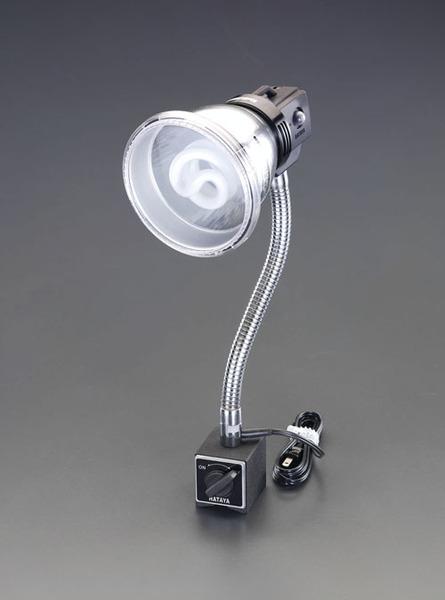 エスコ ESCO AC100V/18W/E26 蛍光灯ライト(マグネット付) EA761XH-1 [I120405]