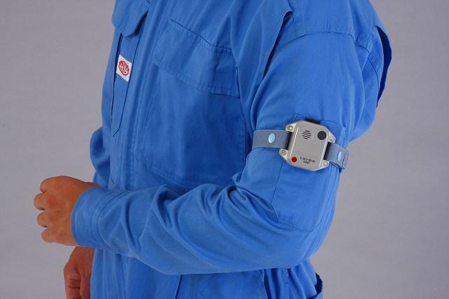 エスコ ESCO 高圧活線接近警報器(上腕取付型/60Hz) EA707DW-2 [I110217]
