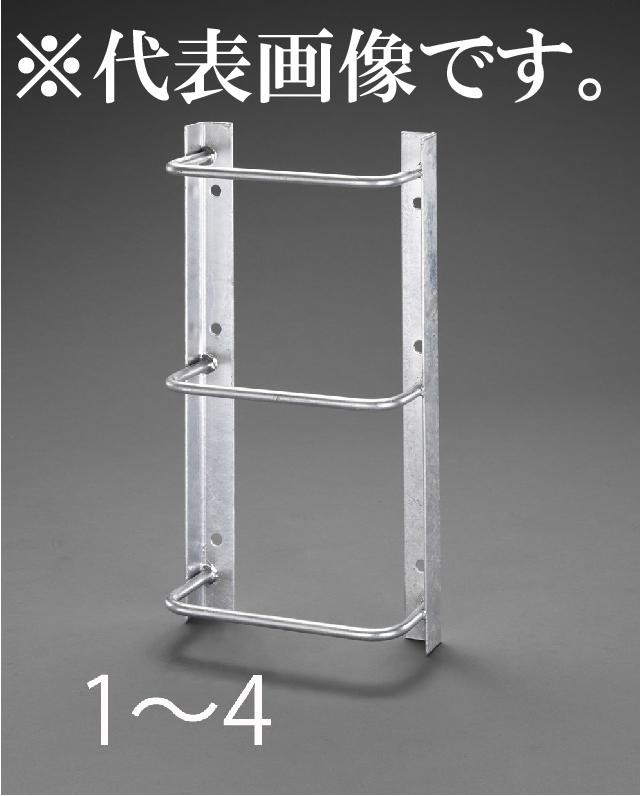 エスコ ESCO 350x1900mm/7段 タラップ(スチール製) EA951SC-4 [I040523]