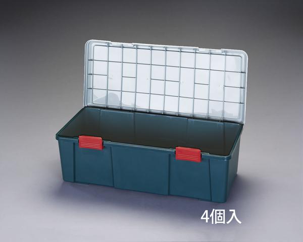 エスコ ESCO 900x400x280mm 車載ケース(樹脂製/4個) EA960AB-17B [I270104]