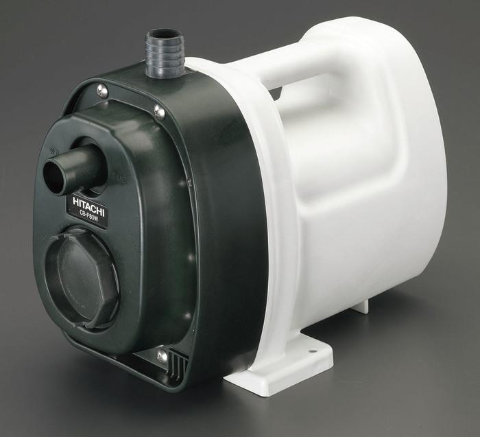 エスコ ESCO 【個人宅不可】 AC100V/80W(50/60Hz)/25mm 陸上ポンプ EA345AD-11C [I270303]