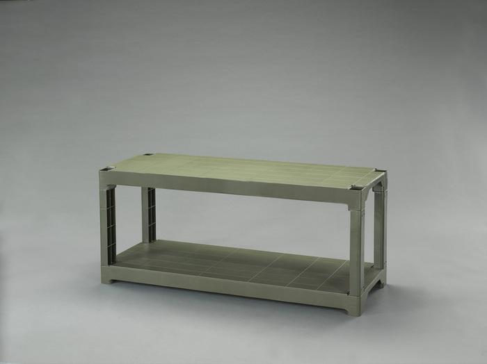 エスコ ESCO 【個人宅不可】 プラスチック棚(OD色) EA976AL-42 [I270107]