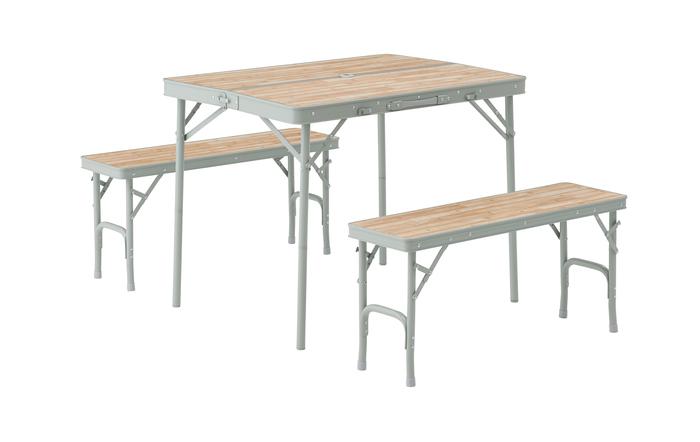 エスコ ESCO 【個人宅不可】 900x650x700/400mm テーブル・チェアーセット EA913YA-18B [I270302]