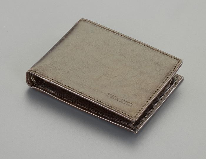 エスコ ESCO 125x 95mm 財布(本革製/ブラウン) EA927TP-7C [I270203]