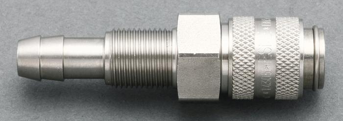 エスコ ESCO 8mm ウレタンホースカップリング(隔壁/ステンレス製) EA140GL-508 [I161112]