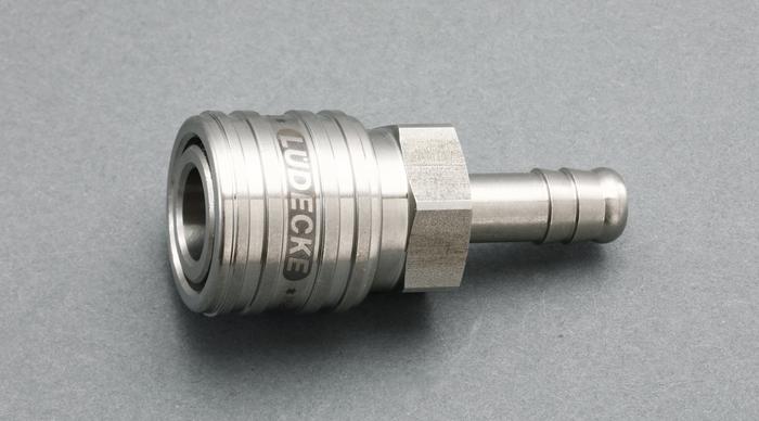 エスコ ESCO 10mm ウレタンホースカップリング(ステンレス製/ワンプッシュ) EA140GT-210 [I160907]