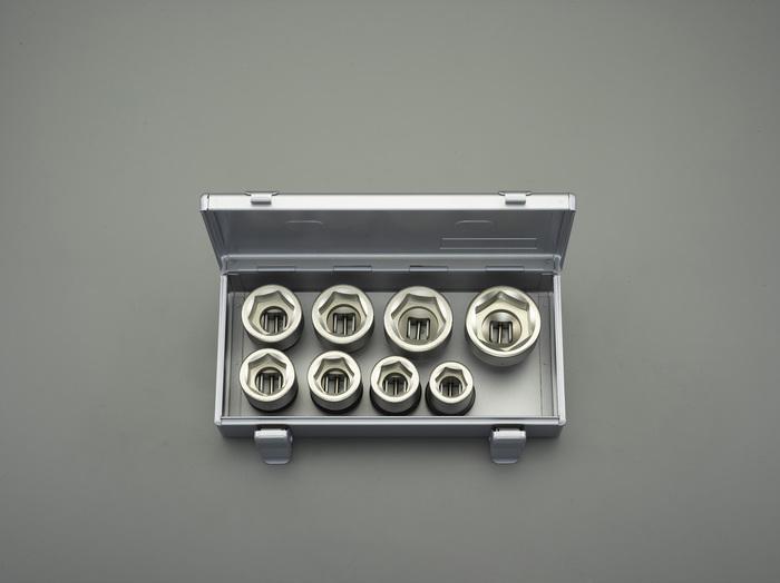 エスコ ESCO 【個人宅不可】 3/4DR インパクトソケットセット EA164NA-2 [I080508]