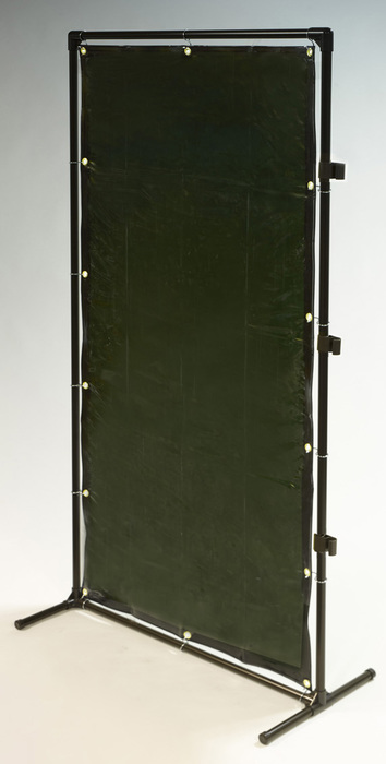 【★店内ポイント2倍!★】エスコ ESCO 【個人宅不可】 1000x2000mm 溶接作業フェンスセット(緑色) EA334BK-20G [I030204]