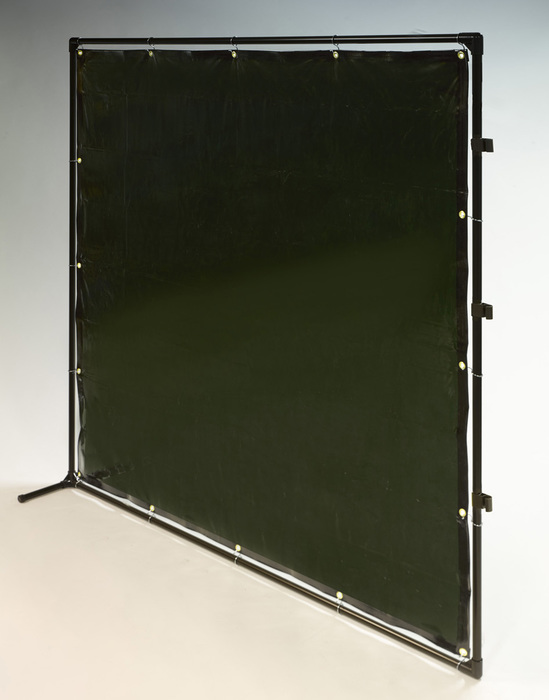 エスコ ESCO 【個人宅不可】 2000x2000mm 溶接作業フェンスセット(緑色) EA334BN-20G [I030204]