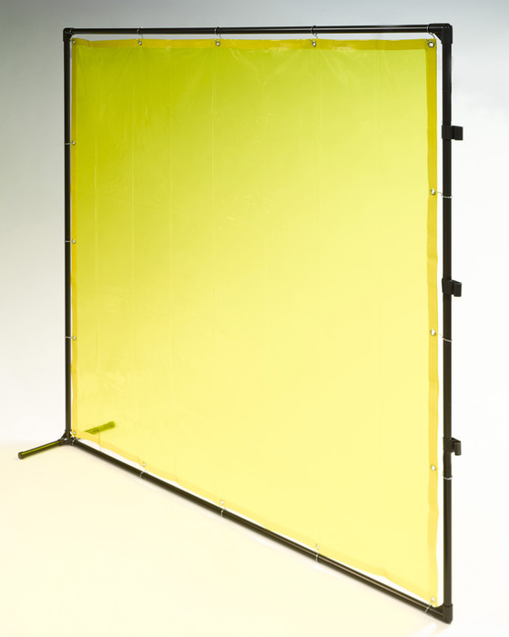 エスコ ESCO 【個人宅不可】 2000x2000mm 溶接作業フェンスセット(黄色) EA334BN-20Y [I030204]