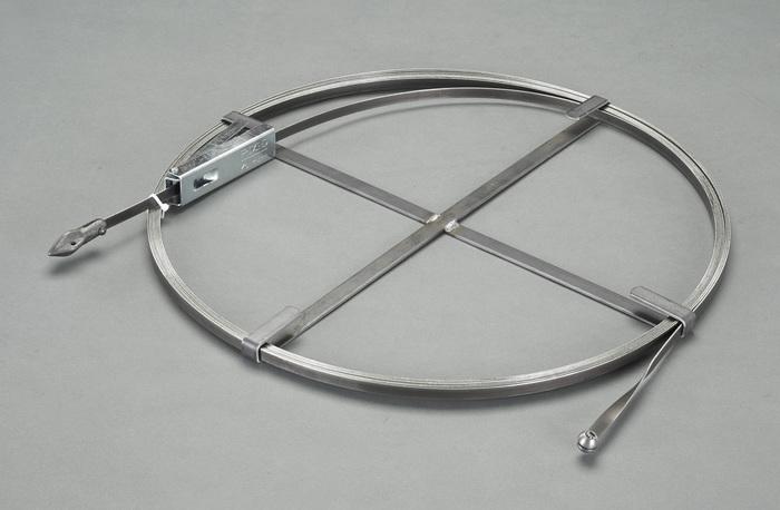 エスコ ESCO 【個人宅不可】 12mm×22.8mドレンクリーナー(帯鋼タイプ) EA340RW-3 [I130518]