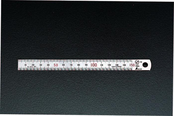 エスコ ESCO 【個人宅不可】 2000mm シルバー直尺 EA720YD-200 [I110815]
