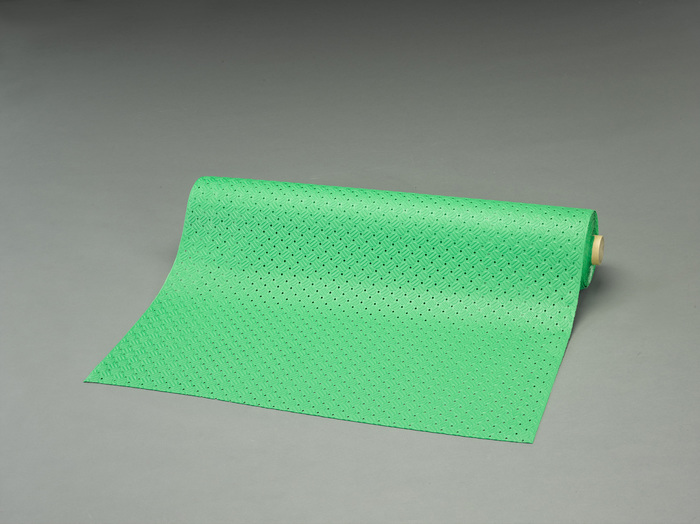 エスコ ESCO 【個人宅不可】 0.92x10m /3.2mm ノンスリップマット(縞鋼板/黒) EA997RA-90 [I240403]