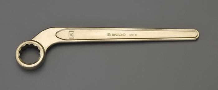 【◆◇スーパーセール!最大獲得ポイント19倍!◇◆】エスコ ESCO 30mm 片口メガネレンチ(ベント・ノンスパーキング) EA643BF-30 [I040114]