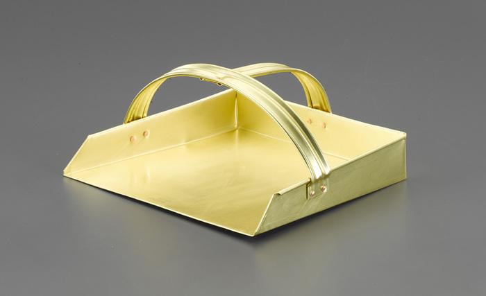 エスコ ESCO 【個人宅不可】 270x250mm ダストパン(ノンスパーキング・真鍮製) EA643HC-23 [I040128]