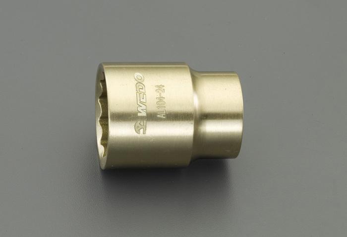 エスコ ESCO 1/2DRx30mm ソケット(ノンスパーキング) EA643FC-30 [I040115]