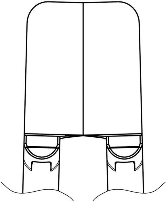 【◆◇スーパーセール!エントリーでP10倍!期間限定!◇◆】白光 ハッコー ベント型ストレートブレード G4-1601 [A020501]