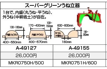 マキタ makita スーパーグリーンうね立器 A-49127 [B040303]