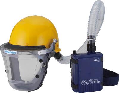 山本光学 スワン 【代引不可】【直送】 電動ファン付呼吸用保護具 LS-355 H1SNM [A062100]