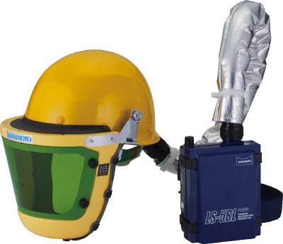 山本光学 スワン 【代引不可】【直送】 電動ファン付呼吸用保護具 LS-355 W2SAZ [A062100]