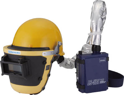 山本光学 スワン 【代引不可】【直送】 電動ファン付呼吸用保護具 LS-355WP SAM [A062100]