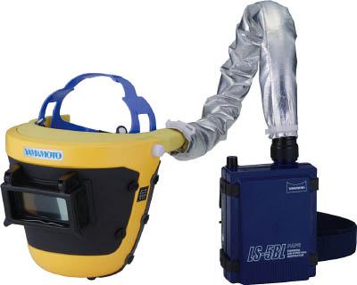 山本光学 スワン 【代引不可】【直送】 電動ファン付呼吸用保護具 LS-455WP SAH [A062100]
