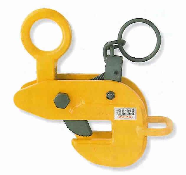 スーパーツール 代引不可 直送 横吊りクランプ サキワレ型 HLC3U A020124 定番,正規品