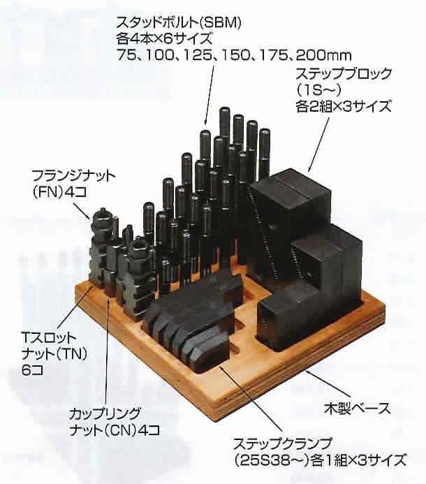 スーパーツール ステップクランプキット S1412CK [A011822]