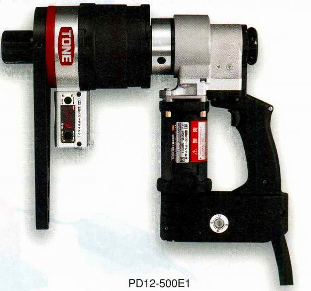 スパナ・レンチならダイシン工具箱におまかせ! トネ TONE 電動パワーデジトルク PD12-500E1 [A010325]