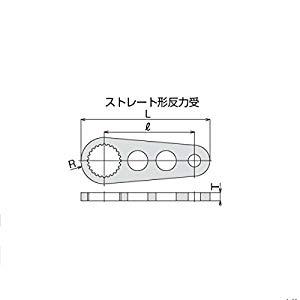 トネ TONE ワーデジトルク・電動パワーデジトルク用反力受 50SH [A010326]