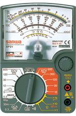 【◆◇スーパーセール!エントリーでP10倍!期間限定!◇◆】三和電気計測 SANWA アナログマルチテスタ ハードケース付き SP21/C [A030215]