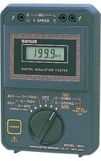 三和電気 sanwa 絶縁抵抗計 M53 [A031200]