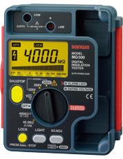 三和電気 sanwa 絶縁抵抗計 MG500 [A031200]
