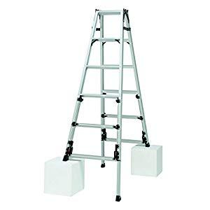 マーベル MARVEL 【個人宅不可】 四脚アジャスト式はしご兼用脚立 150 SE35035 [A130204]
