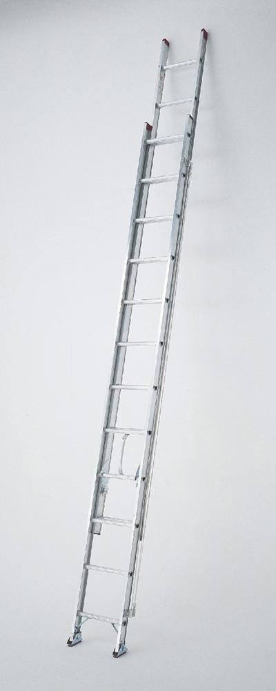 ピカ 【代引不可】【直送】【個人宅不可】 アルミ 2連 はしご 2PRO-53 [A130402]