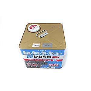 サンデーペイント スーパー水性かわら用 銀黒 7L No.262694 [A190601]