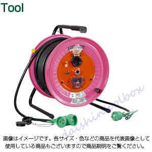 日動工業 【代引不可】【直送】 延長コード型ドラム びっくリール 30mタイプ RBW-EK30SPN [A120514]