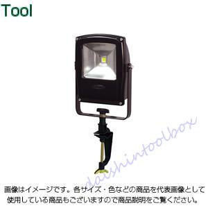 日動工業 フラットライト10W バイスタイプ 本体黒 LEN-F10V-BK [A120104]