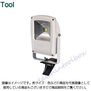 日動工業 フラットライト10W クリップタイプ 本体白 LEN-F10C-W [A120104]