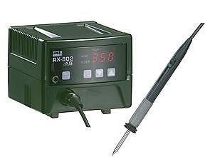 太洋電機産業 グット goot 鉛フリー対応温調はんだこて 静電 RX-802AS [A011602]