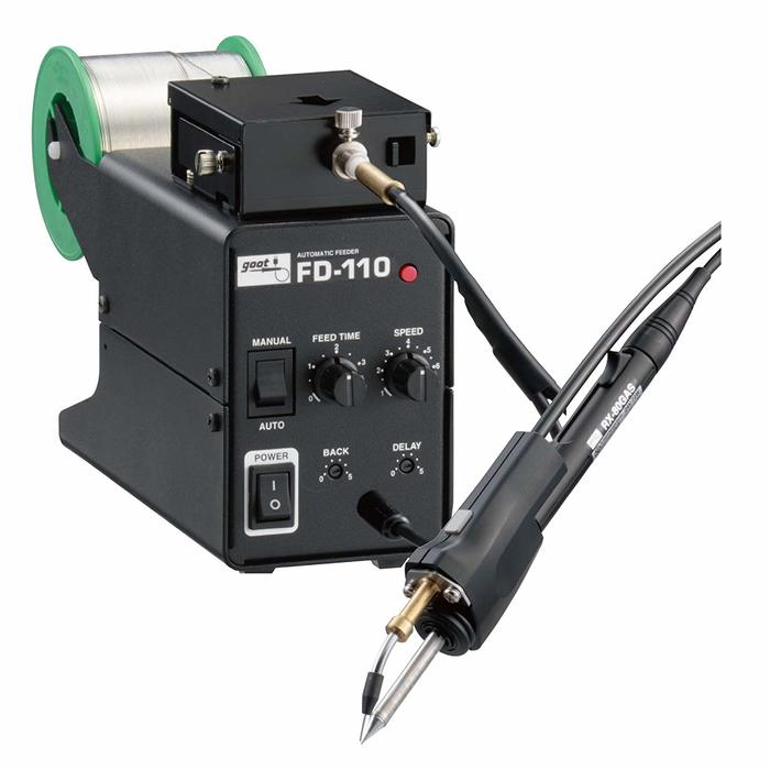太洋電機産業 グット goot V溝加工機能付はんだ送り装置 FD-110-1.2 [A011613]