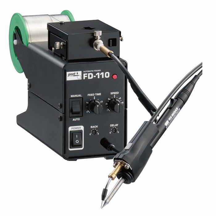 太洋電機産業 グット goot V溝加工機能付はんだ送り装置 FD-110-1.6 [A011613]